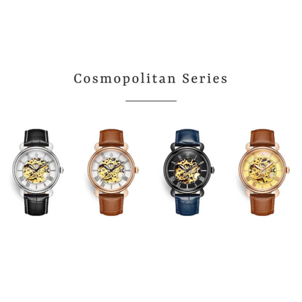 LOBOR 機械錶有多顏色